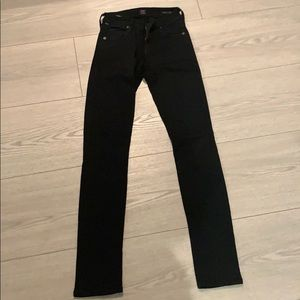 Citizens of Humanity skinny black jeans